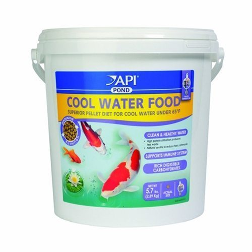 Pond Additives Supplements Api Cool Water Fish Food 5 7lb