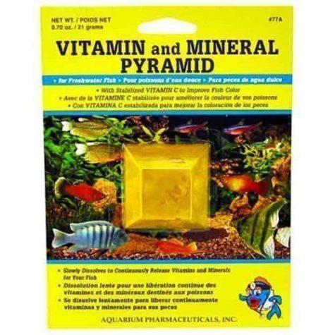 API Vitamin and Mineral Pyramid