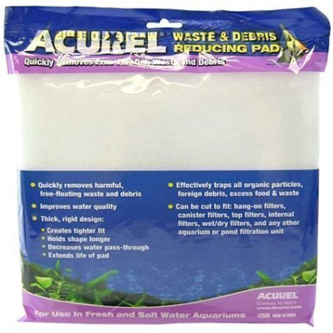 Acurel Waste & Debris Reducing Filter Pad