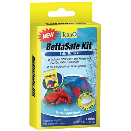 Betta care bettasafe kit arizona aquatic gardens for Betta fish medicine