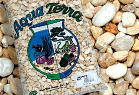 Natural River Pebbles Aquarium Gravel, Aquarium Supplies