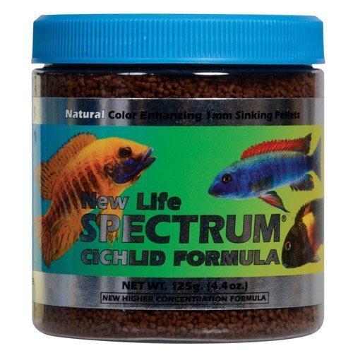 New life spectrum cichlid formula fish food arizona for Cichlid fish food