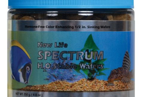New Life Spectrum - H20 Stable Wafers Fish Food