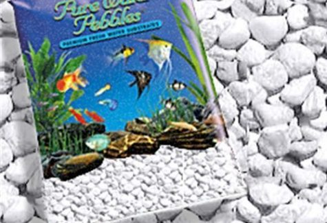 Platinum White Frost Gravel, aquarium supplies