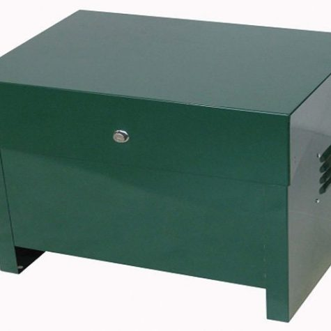 Standard Enclosed Lockable Steel Aeration Cabinet