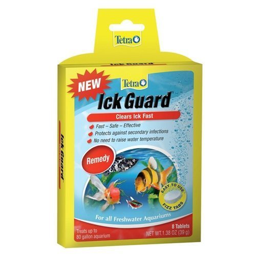 Tetra ick guard tablets arizona aquatic gardens for Fish ick treatment