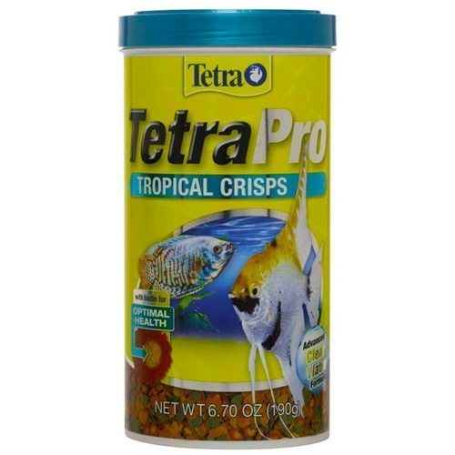 TetraPRO Tropical Crisps Fish Food NEW!
