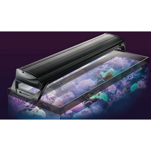 Coralife Aqualight T5 Dual Fluorescent Light Fixture For: Coralife Aqualight High Output Freshwater T5 Light