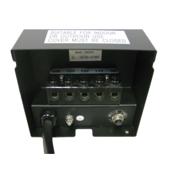 EPT300T 300 Watt Transformer with Photoeye and timer – 120 V to 12 V