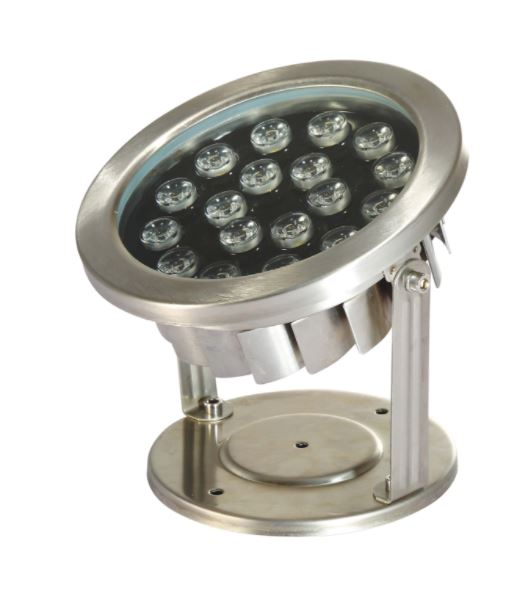 LED18WW 18 Watt Stainless Steel Underwater LED Light